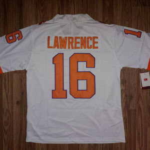 Trevor Lawrence White Clemson Tigers Jersey New
